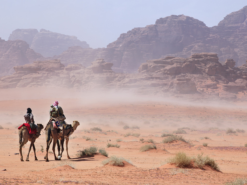 Quand partir / climat en Jordanie