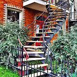 Les Escaliers de Montréal en photos par Julien Lebreton
