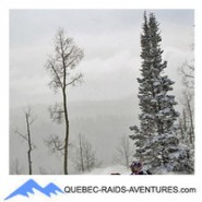 Rallye  en Jeep au Canada