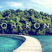 L'ile de Koh Rong-parfaite échappe de la tension urbaine