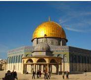 Un visiteur dans la vieille ville de Jérusalem