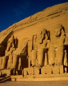Egypt --- Egypt, Abu Simbel, Temple of Ramses II --- Image by © Travel Pix Collection/JAI/Corbis