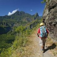 Randonner avec un guide sur les volcans de La Réunion