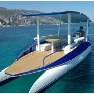 Découvrir la Côte d'Azur en navigation solaire, est désormais possible